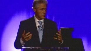 Bill Clinton Celebrates Birthday In Toronto