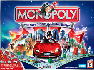 Monopoly world edition – vote for montreal, toronto & vancouver.