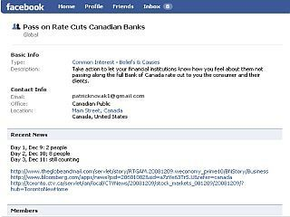 Facebook Page Attracts Cdns  Angry Over Lack Of Full Bank Rate Cuts