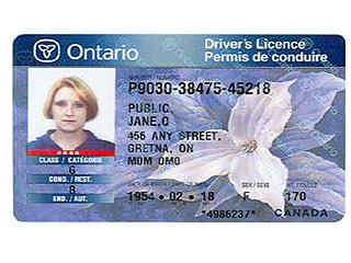Security Replace To Ont Licence Driver's Your Card With High Tech