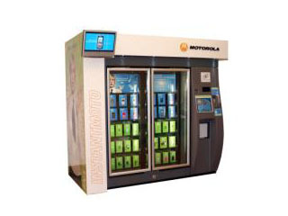 Motorola Tests Cell Phone Vending Machines