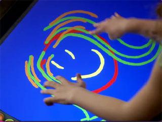 microsoft unveils touchscreen tabletop computer citynews toronto
