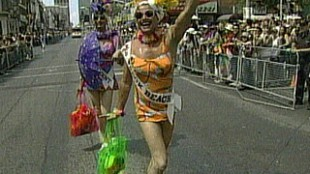 Pride Parade Takes Over Downtown