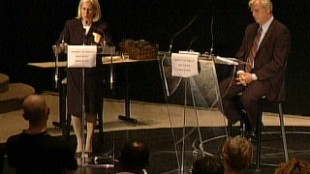 Miller And Pitfield Engage In Heated Debate