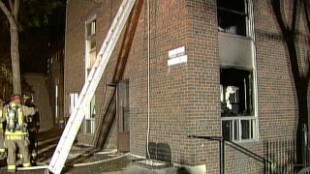 Fire Consumes Family's Downtown Home