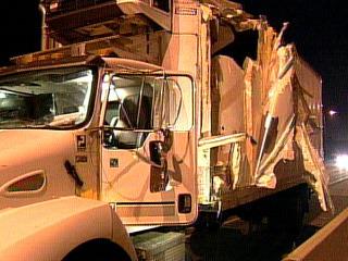 Multi-Vehicle Crash On QEW Topples Light Standard, Causes Pileup