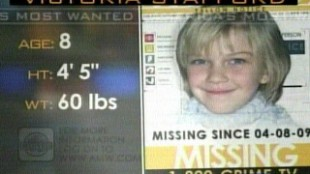 Victoria Stafford Disappearance Featured On America's Most Wanted