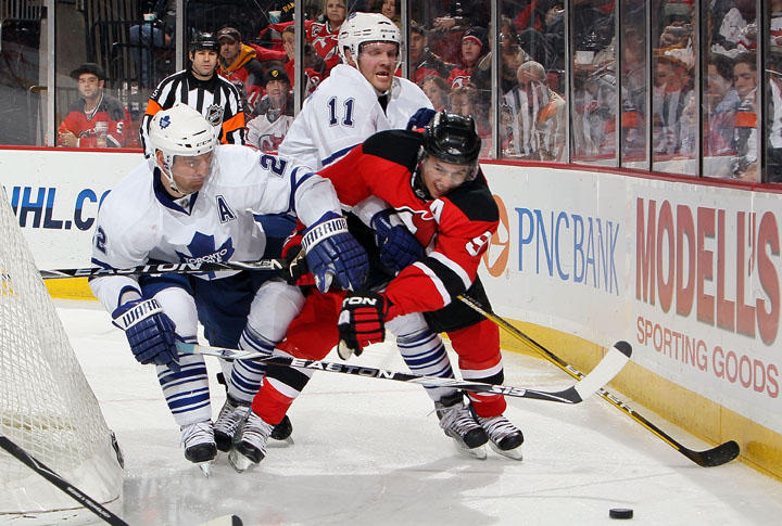 410d24dfc9e Devils Score 3 Late Goals To Beat Leafs In Kovalchuk's Debut