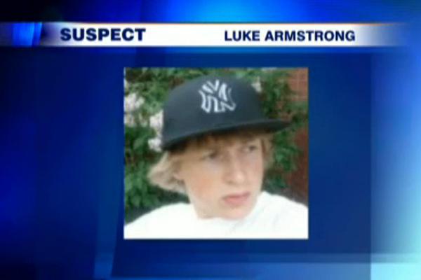 Murder Suspect Luke Armstrong