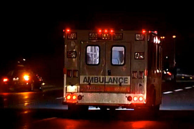 Driver airlifted after colliding with Fairville Ambulance in Wayne County