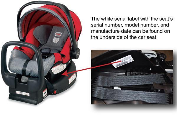 Health Canada Issues Car Seat Recall