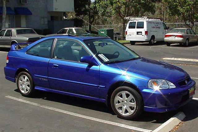 2 Door 2000 Honda SiR Most Stolen Vehicle In Province U0026 Country
