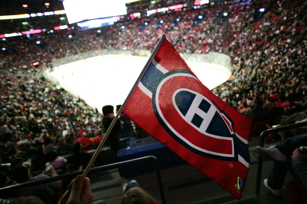 Montreal Canadiens Play French National Anthem Before Game At Bell