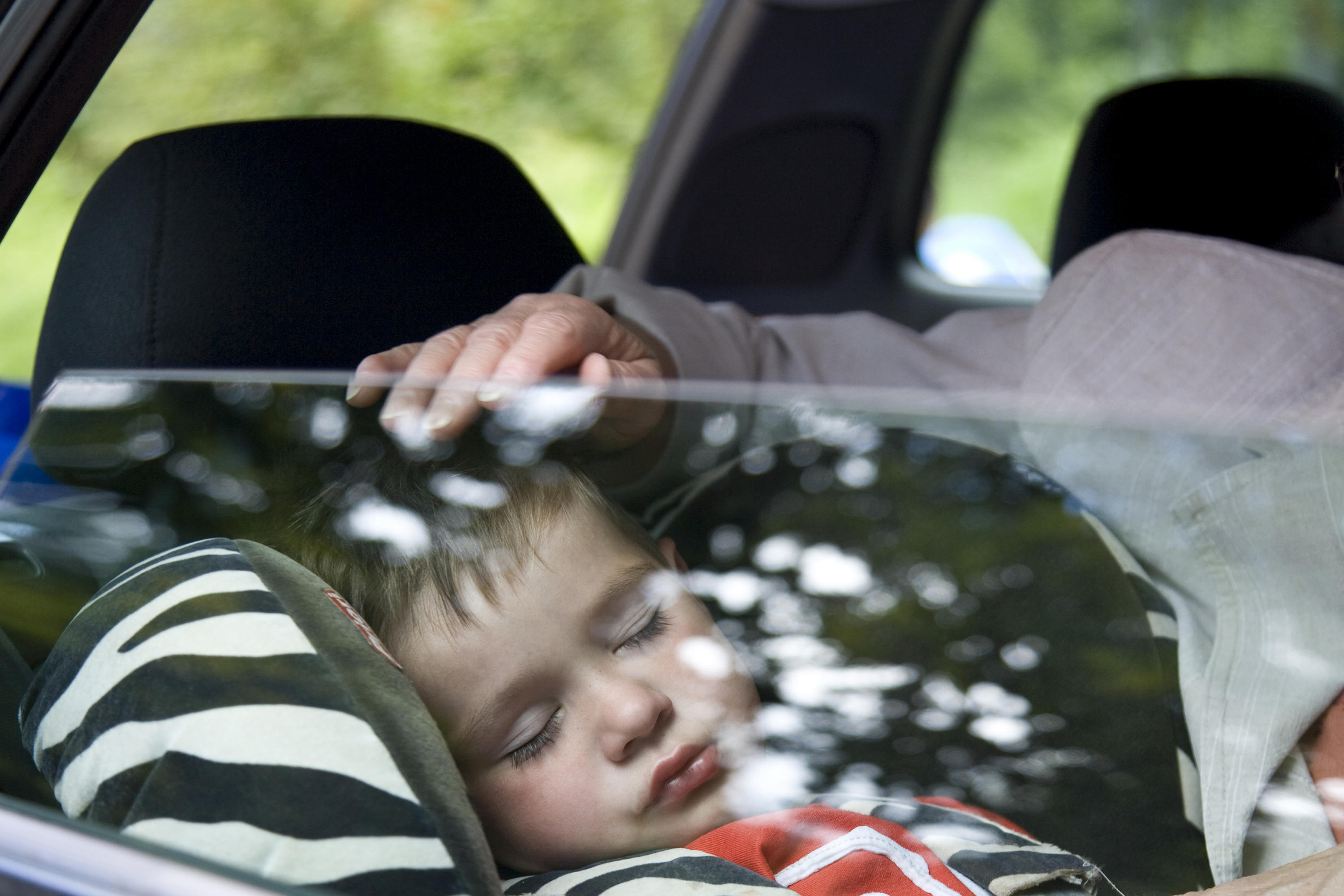 Boy Sleeping In Car Seat Experts Now Recommend Kids Stay Rear Facing Seats Until Age Of 2 THE CANADIAN PRESS ABLEIMAGES