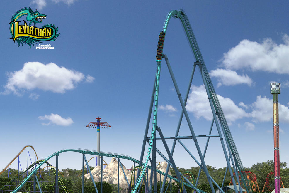 Wonderland to offer Leviathan roller coaster ride - CityNews