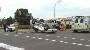 bf10a0e7a4d3 A crash on Major Mackenzie Drive on August 20