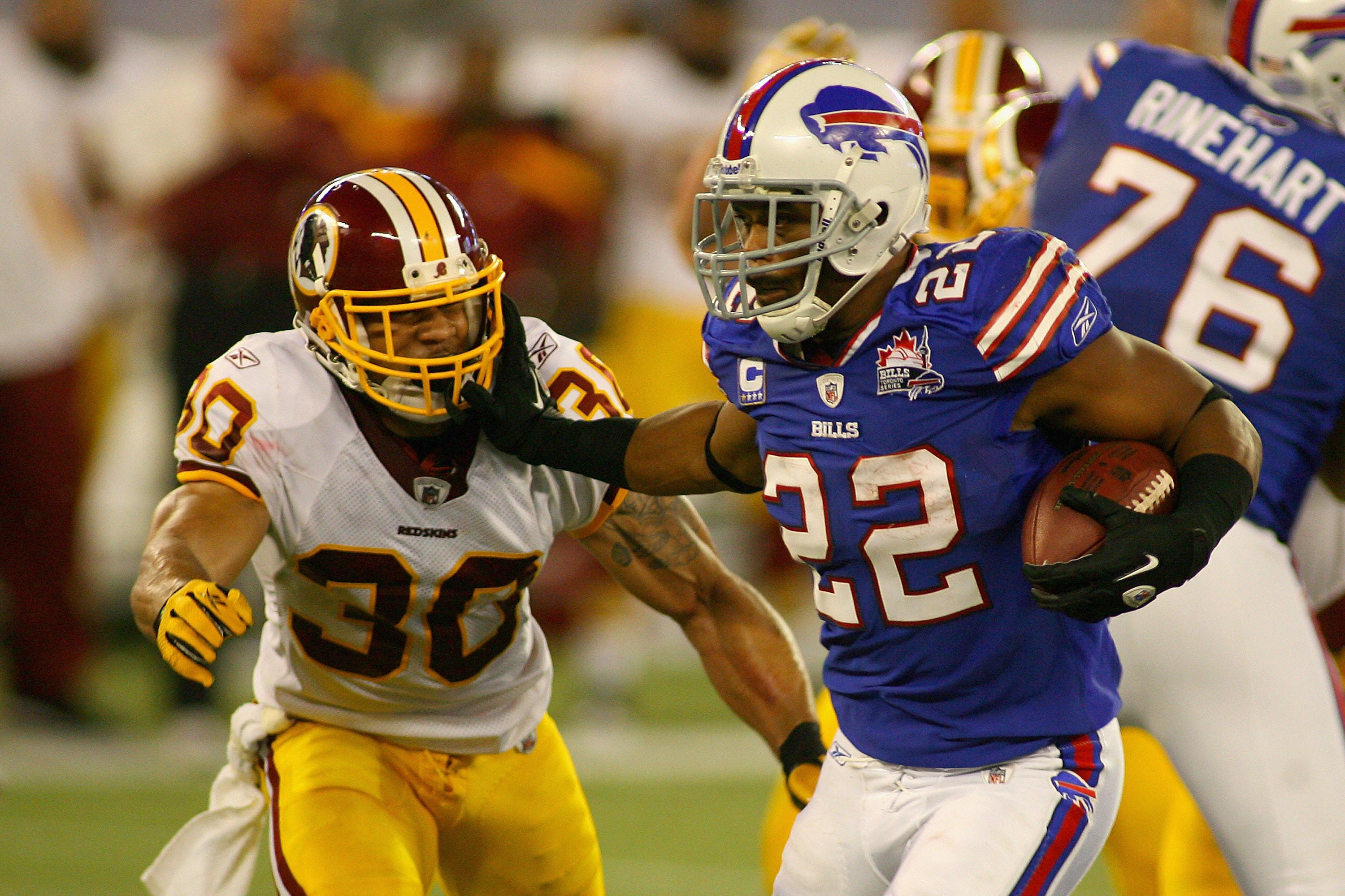 Fitzpatrick leads Buffalo Bills past Washington Redskins at Rogers