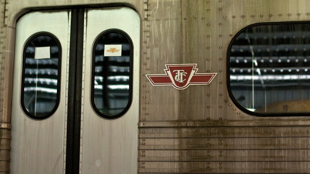 A TTC subway train. Courtesy of Nile Livesey.