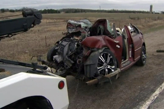 2 dead after head-on crash near Orangeville