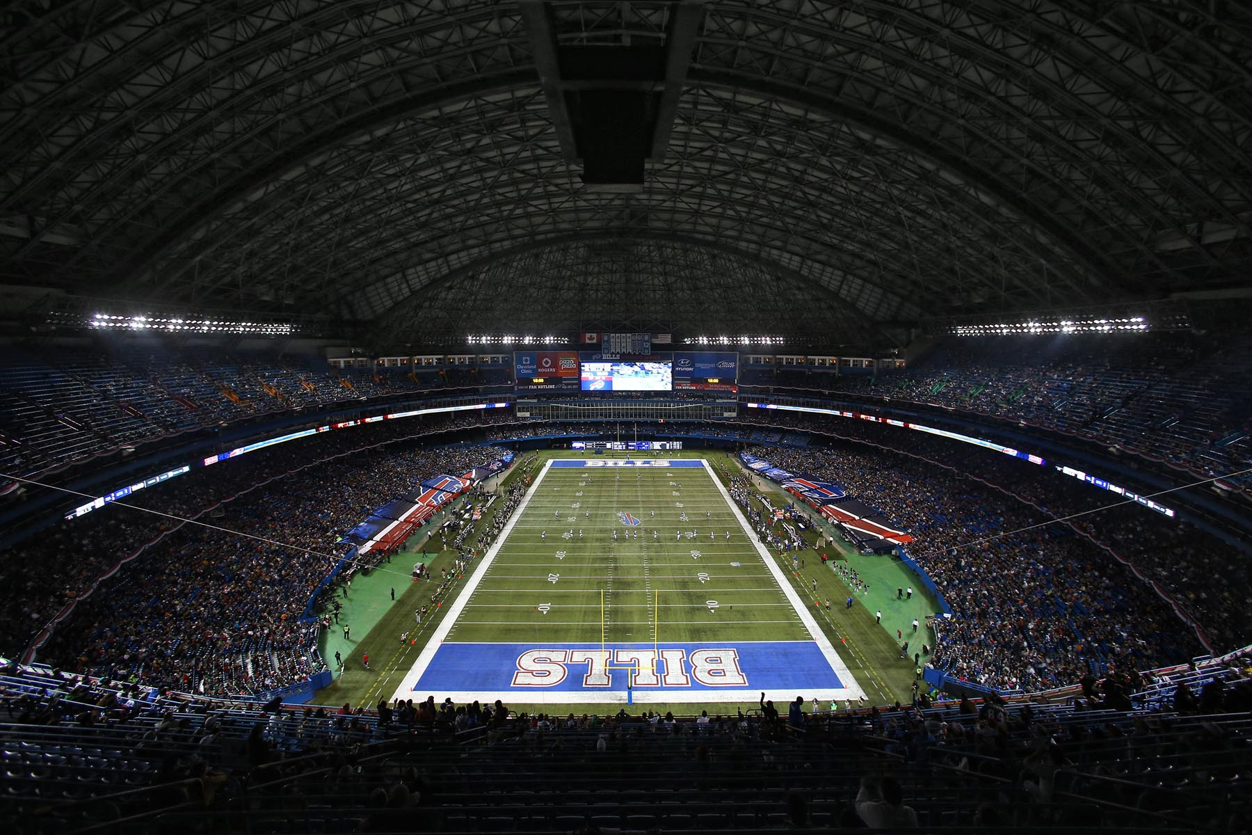 Hot Tickets on sale for Toronto Bills Falcons game  for sale