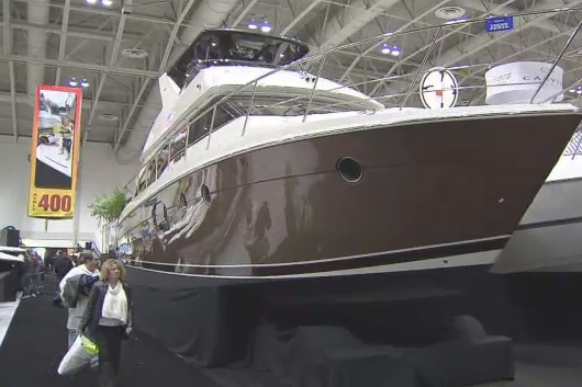 File photo from the Toronto International Boat Show. CITYNEWS
