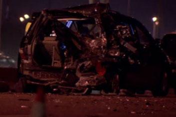 Boy, 7, dies in crash on Hwy  401 at Dixie
