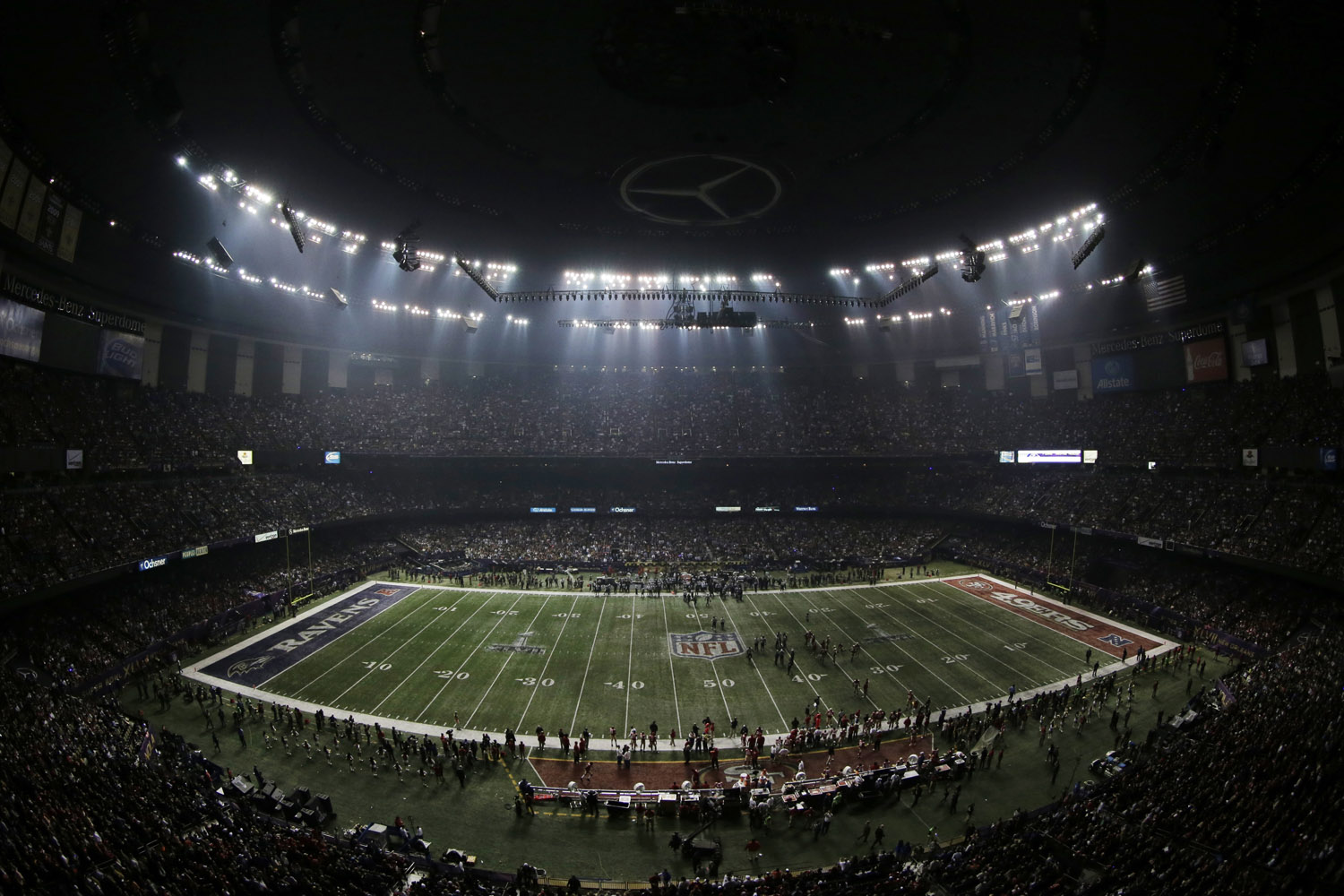 Super Bowl power outage traced to fault in device meant to prevent