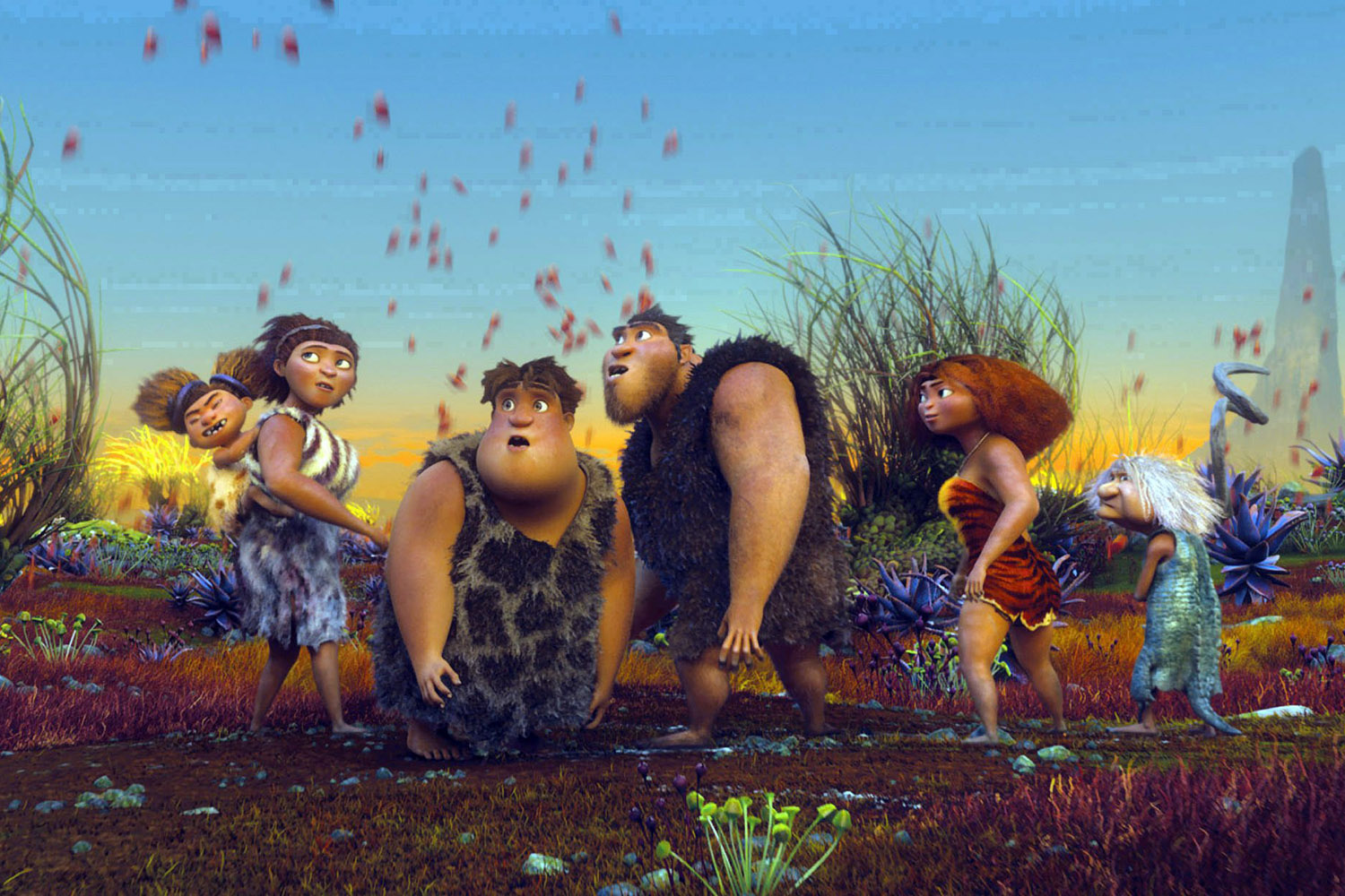 Animated film 'The Croods' dominates weekend box office