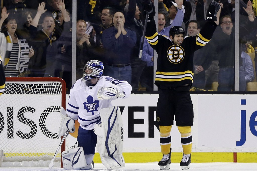 Bruins Beat Maple Leafs 4 1 In Game One Of Playoffs Citynews Toronto