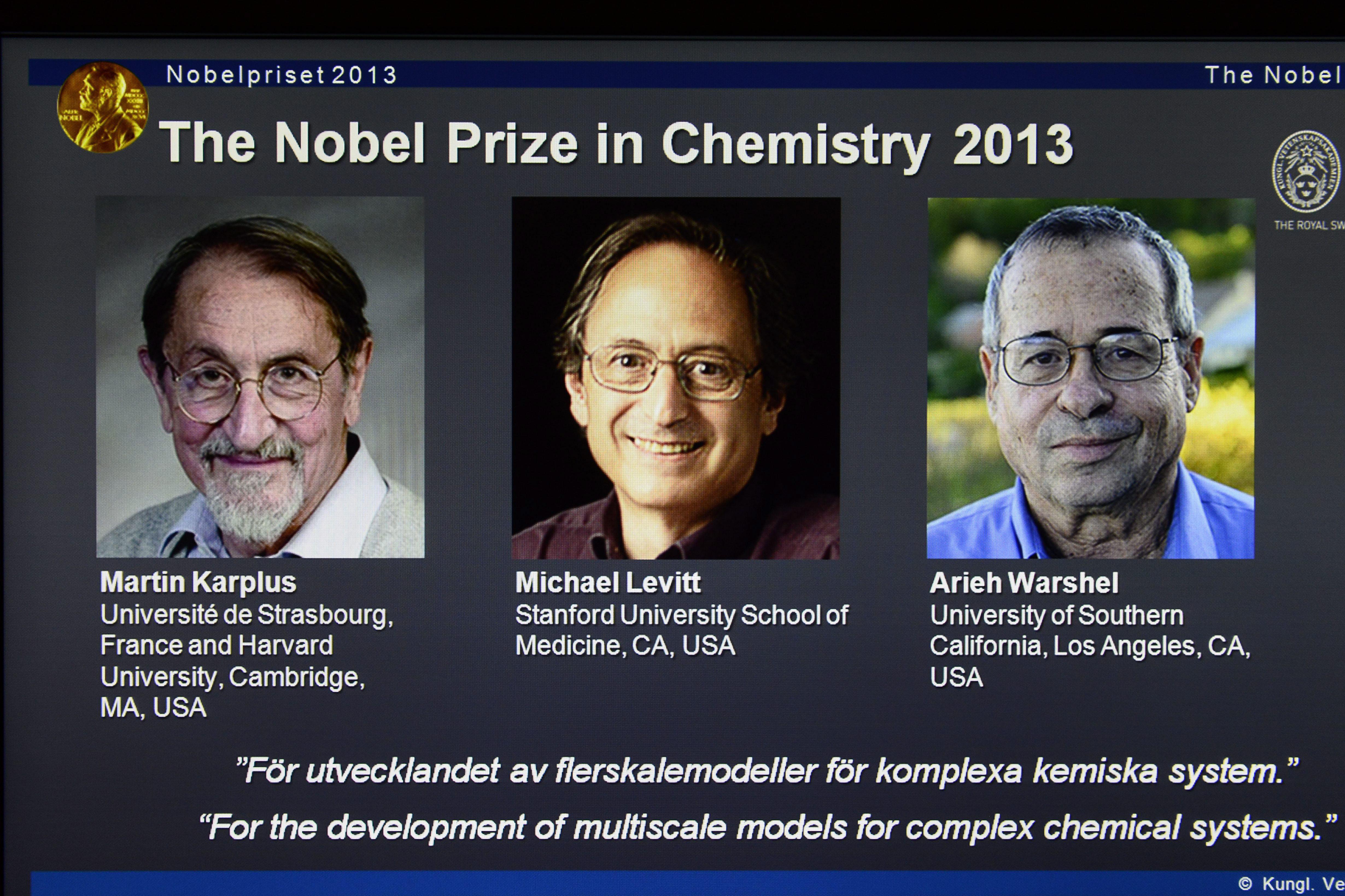 NOBEL PRIZE 2013 CHEMISTRY EBOOK