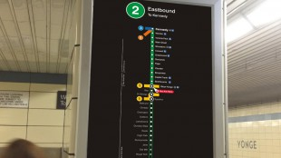 A TTC report proposing numbered subway lines was presented at a board meeting on Oct. 23, 2013. TTC