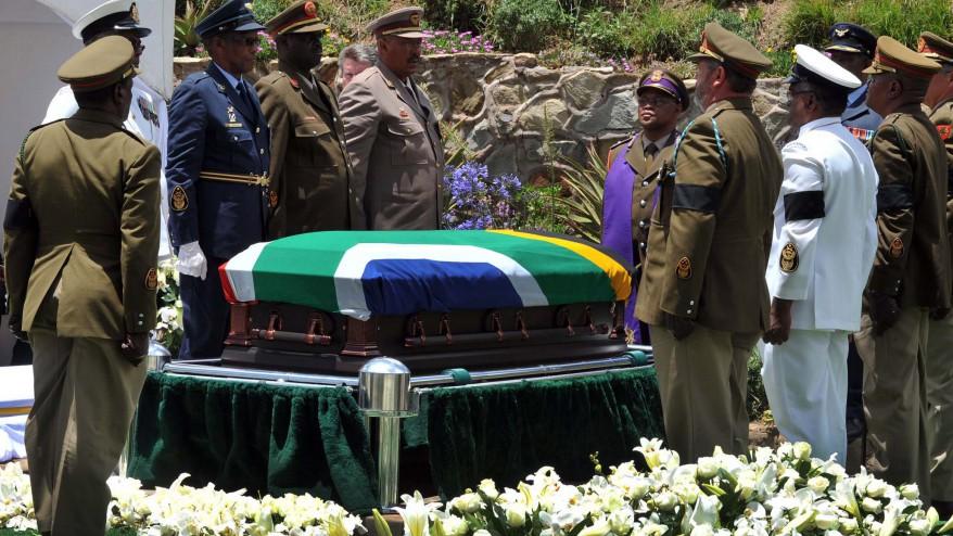 Mandela Funeral Casket