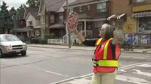 Toronto crossing guard uniform