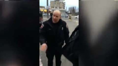 Hamilton police officers praised after video of arrest goes