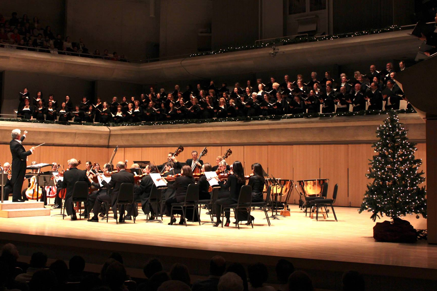 "The Toronto Symphony Orchestra joins forces with the Toronto Mendelssohn Choir and vocal soloists for Handel's ""Messiah"" at Roy Thomson Hall. FACEBOOK/TSO."
