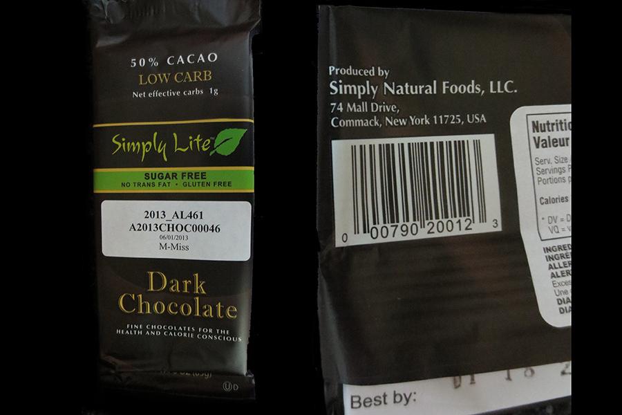 Simply Lite Milk Chocolate