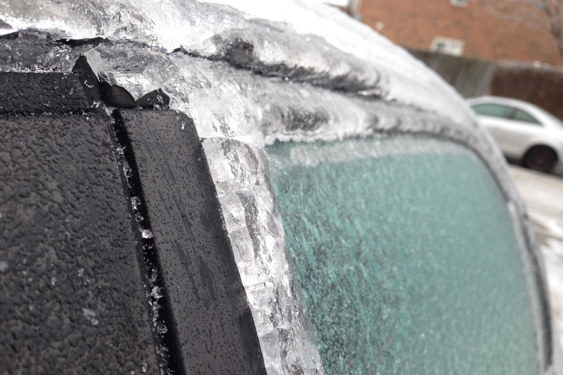 Freezing rain in the forecast for Peel on Monday