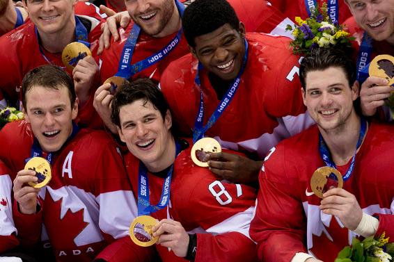 Canada hockey gold photos — img 2