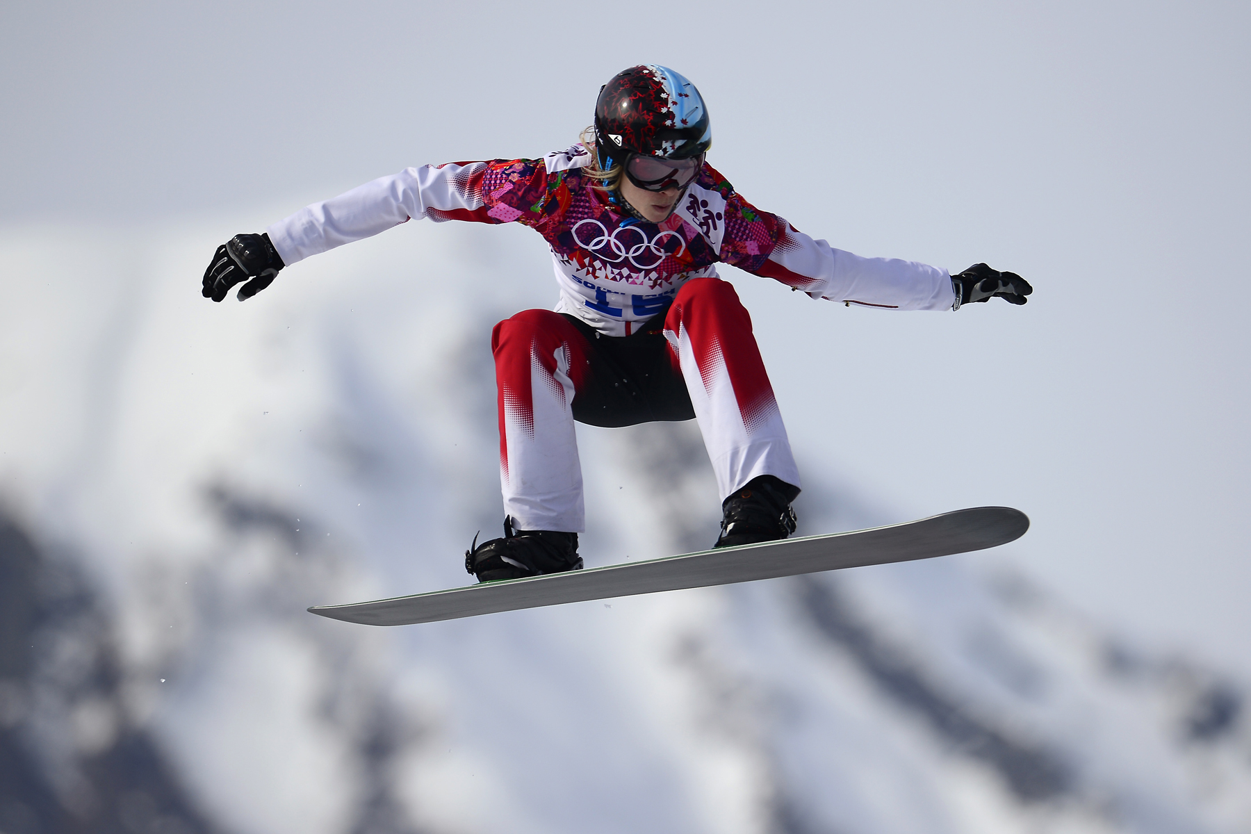 Canadian olympic snowboarding