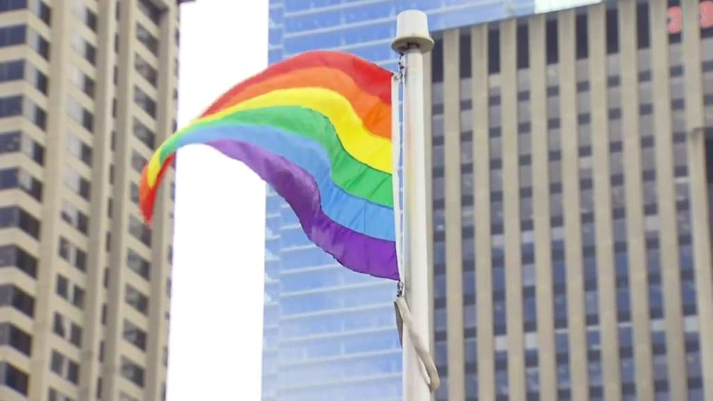The Pride flag is shown in Toronto in an undated file photo. CITYNEWS