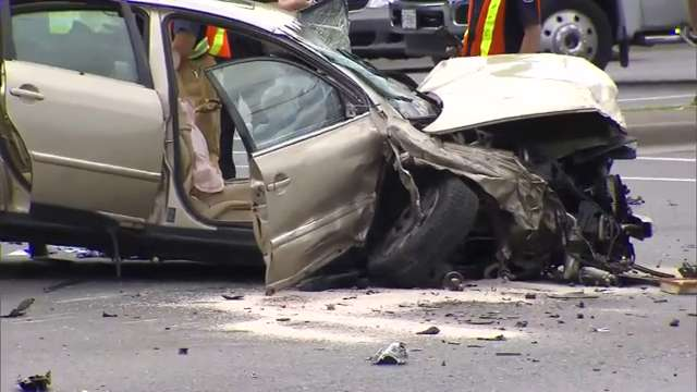 Toronto man, 20, charged after multi-vehicle Vaughan crash