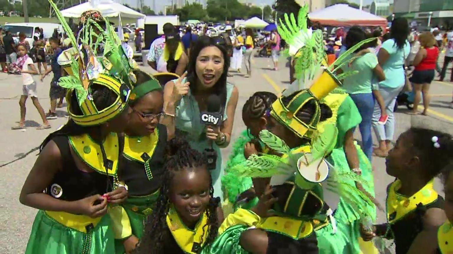 Big beats, big names at Caribana Flags and Colours parade