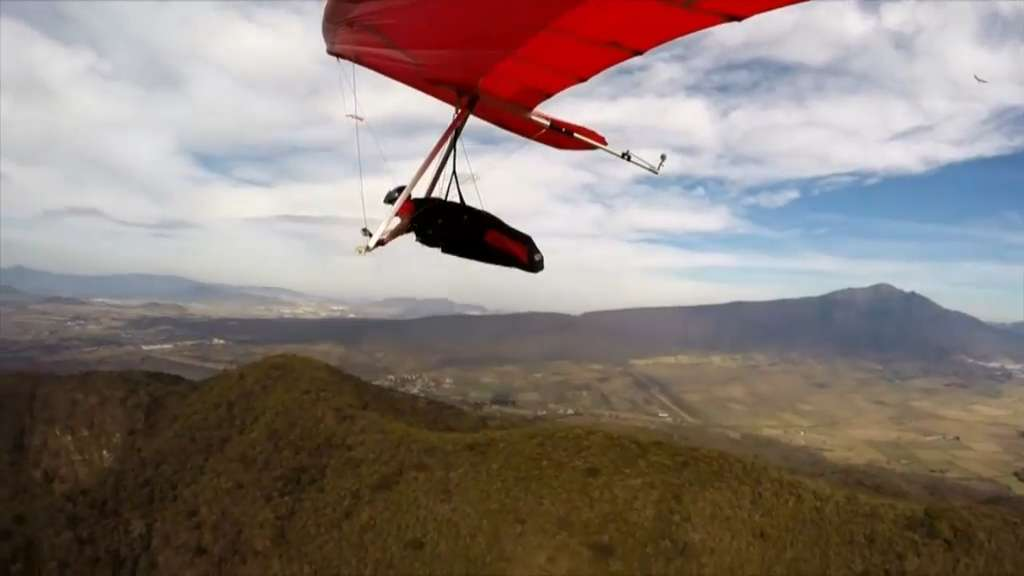 Athlete of the Week: Hang-glider Graziano Mele