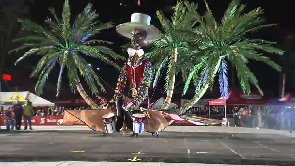 Caribbean Carnival crowns king & queen of the parade