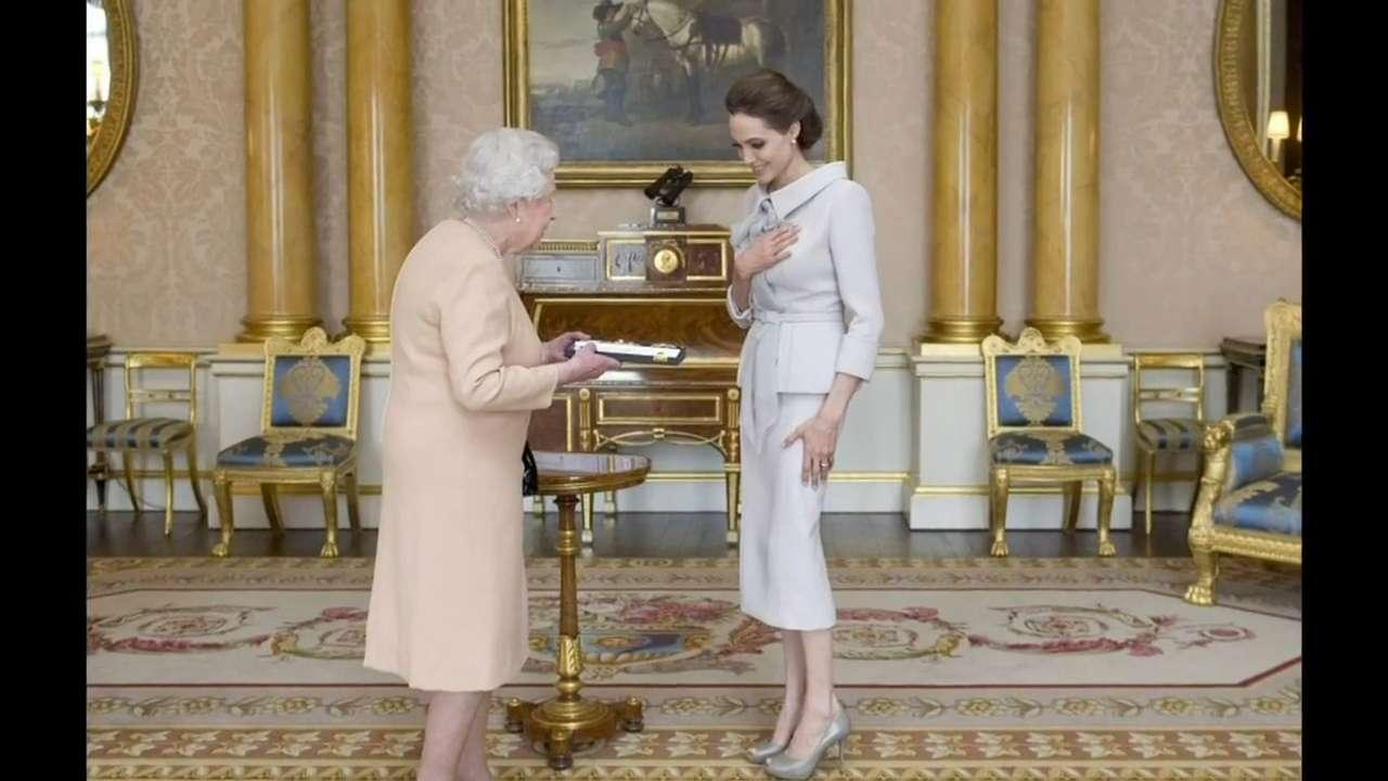 Entertainment City: Queen honours Angelina, Jolie, Katy