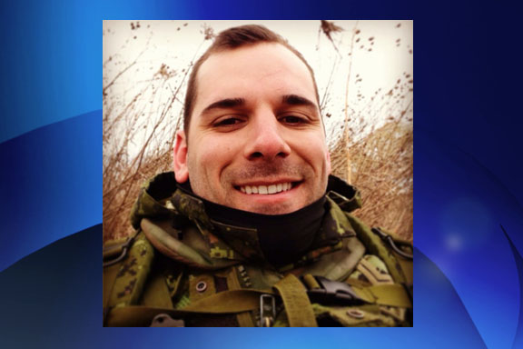 Cpl. Nathan Cirillo of Hamilton was killed near Parliament Hill on Wednesday morning. COURTESY: Facebook