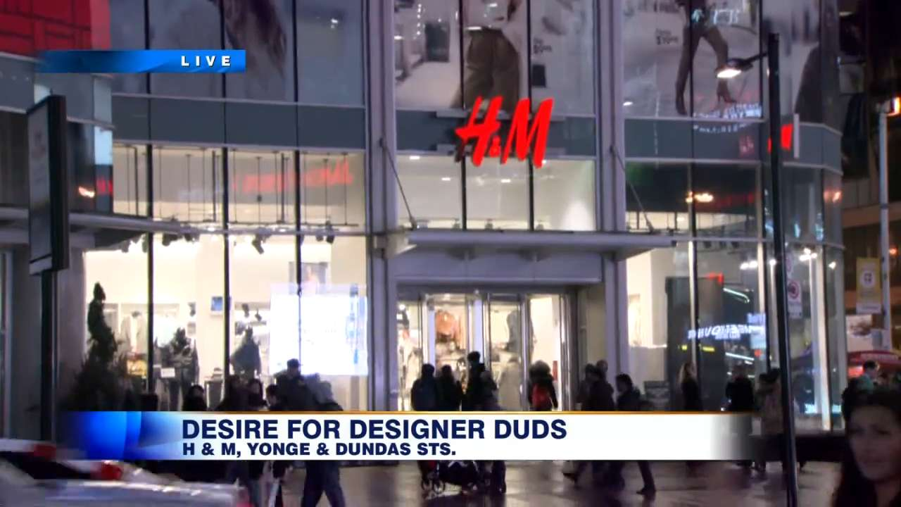 alexander wang clothes draw lineups at eaton centre h m. Black Bedroom Furniture Sets. Home Design Ideas