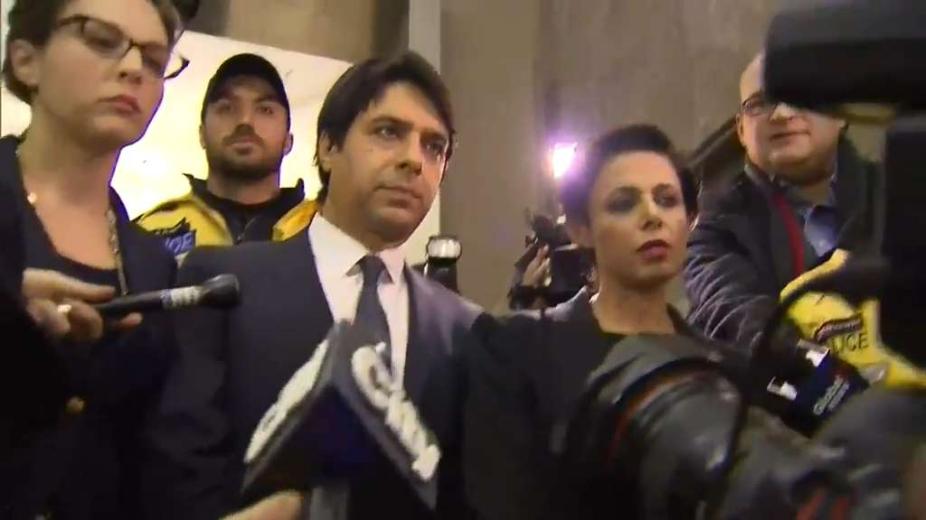 Jian Ghomeshi and his lawyer Marie Henein Photo: CityNews