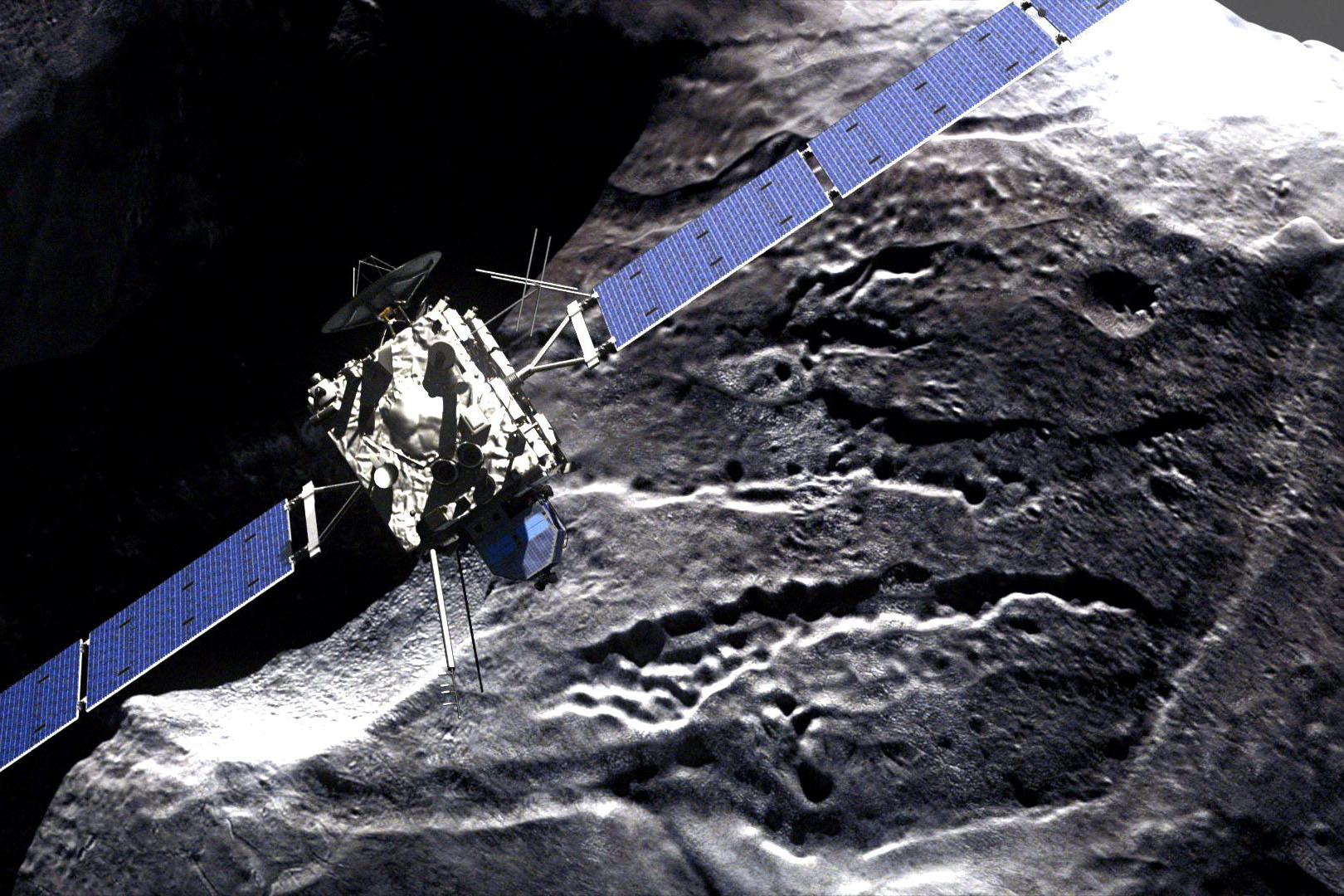 Unmanned space probe makes historic comet landing - CityNews