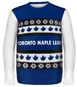 c93ff806ebc The Maple Leafs ugly Christmas sweater. Screengrab from shop.nhl.com.